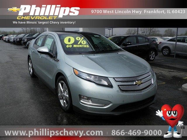 Get Into This Beautiful New 2012 Chevrolet Volt For 42 699 Today