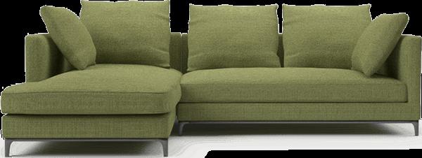 Camerich Crescent Contemporary Narrow Corner Sofa 2450