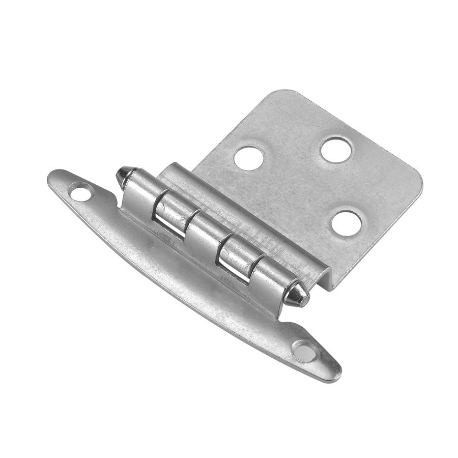 Style Selections X Satin Nickel Flush Cabinet Hinges