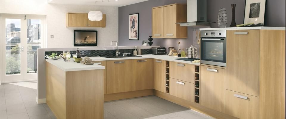 Howden 39 S Greenwich Light Oak Kitchen Pinterest Kitchen Collection Light Oak And Lights