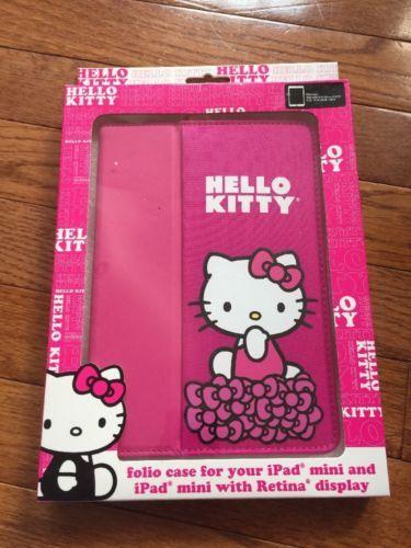 iPad MINI Hello Kitty Folio Case Retina Display Hot Pink Sanrio https://t.co/MowxZmReFX https://t.co/BFvApZV3fR