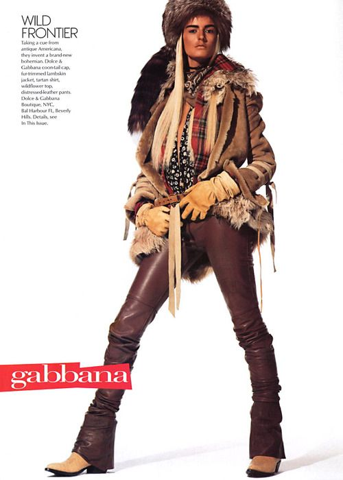 Dolce & Gabbana. Vogue july 2001 steven meisel