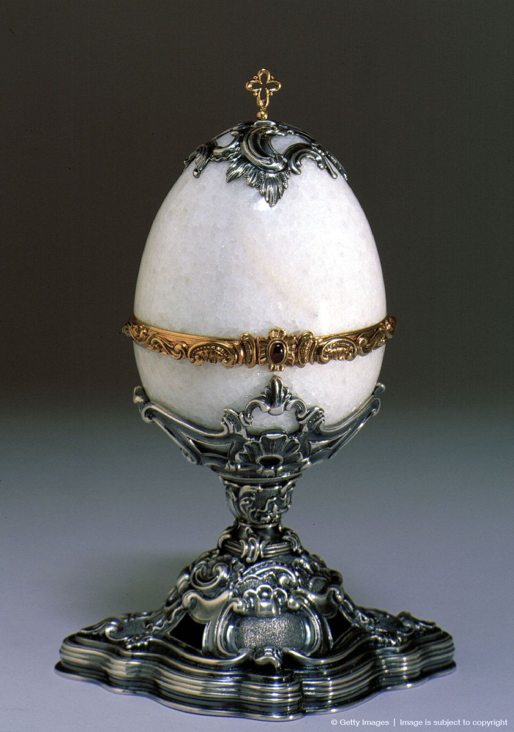 Faberge Egg from the Kremlin Museum collection in Moscow,