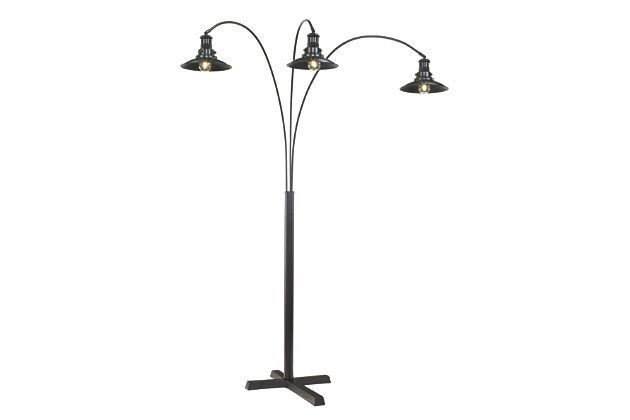 Black Sheriel Floor Lamp By Ashley Furniture Lamp