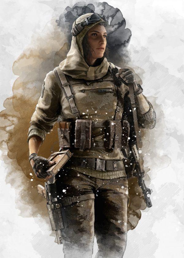 Pin By Daniel Seth On Rainbow Six Siege Operators Wallpaper With
