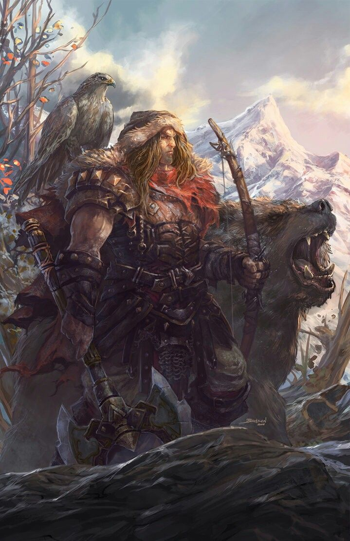 Dwarven beast master and hunter. | Character Conception ...