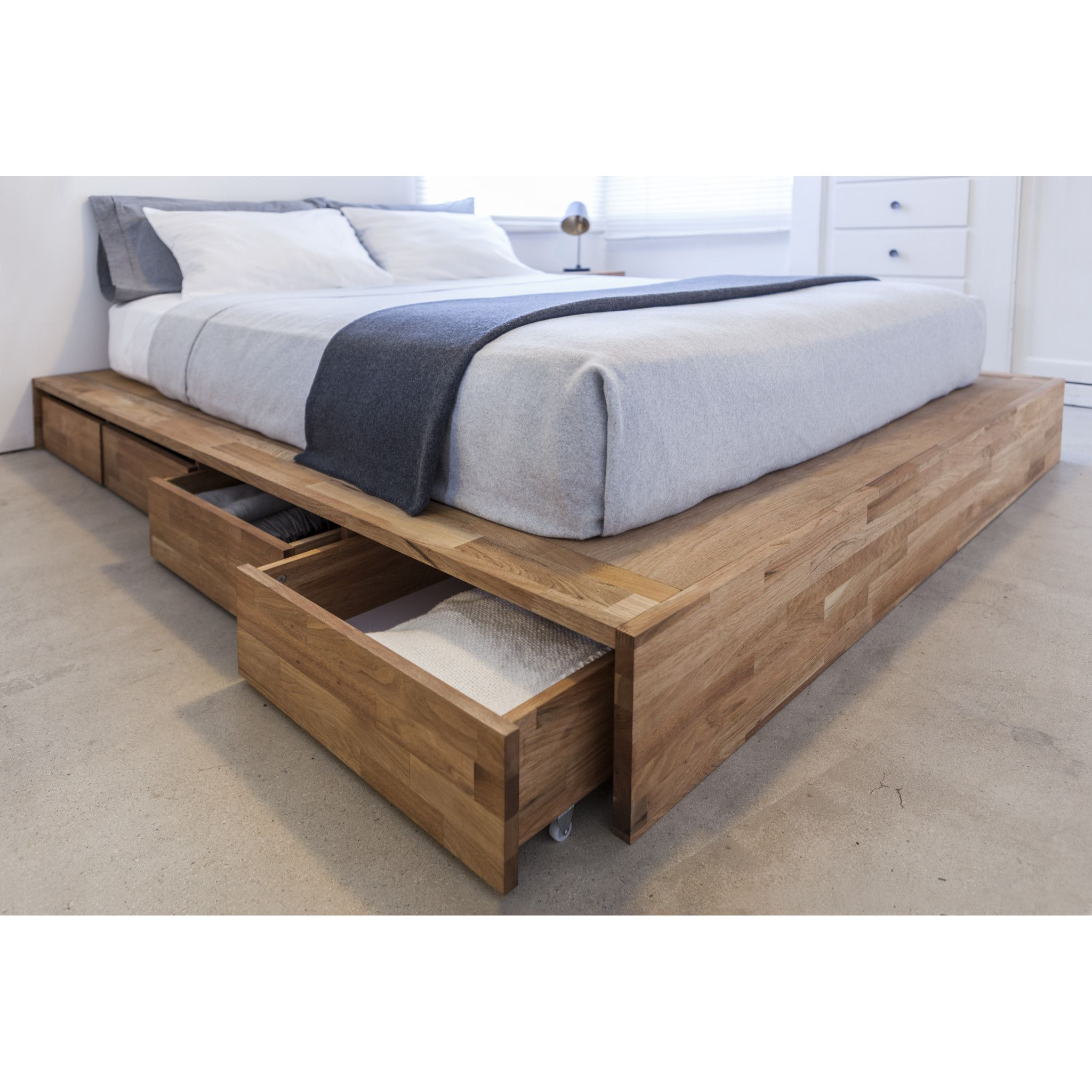 Middendorf Storage Platform Bed Bed Design Diy Platform Bed