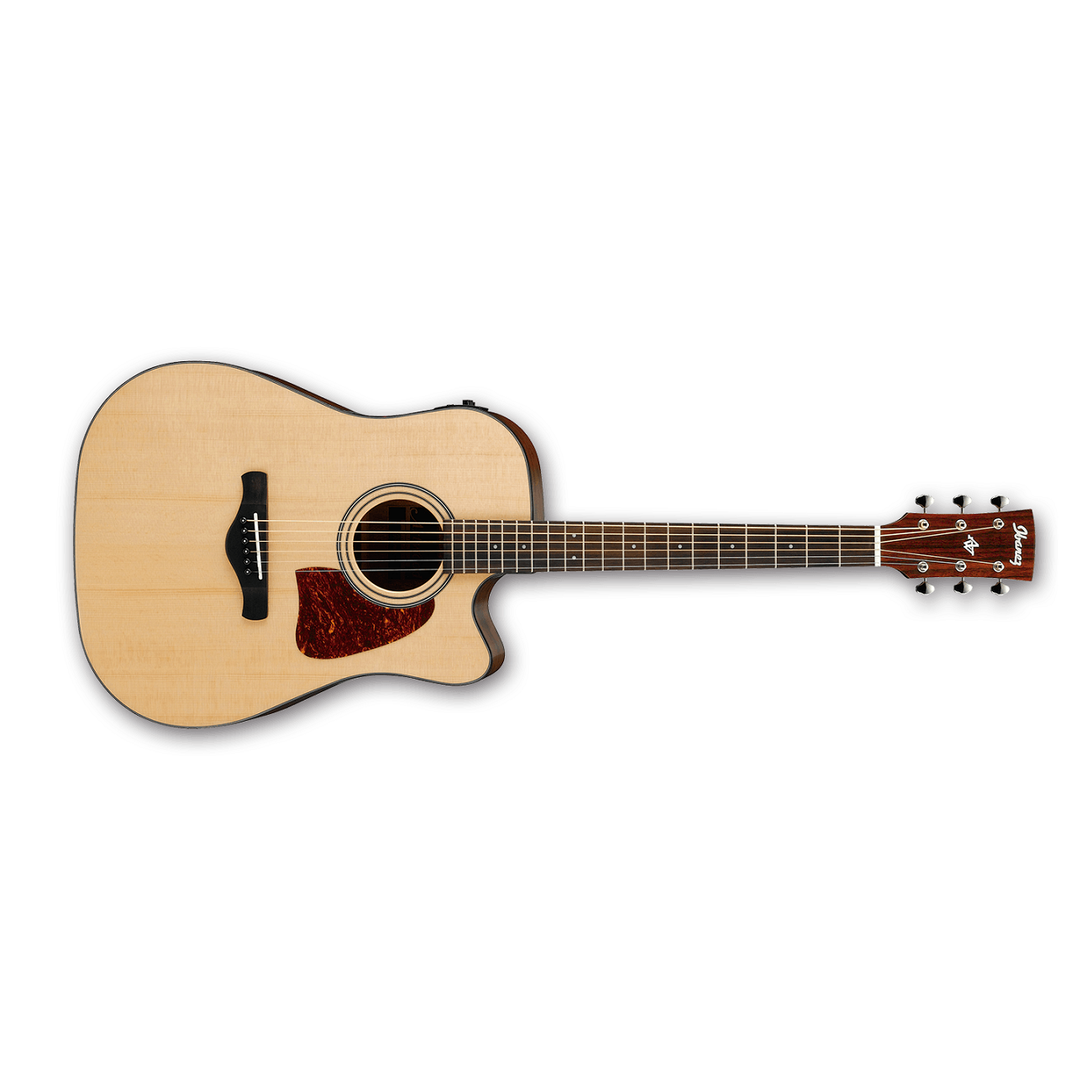 Ibanez Aw400ce Artwood Dreadnought Cutaway Acoustic Electric Guitar In Natural With Cedar Top Acoustic Electric Guitar Acoustic Electric Guitar