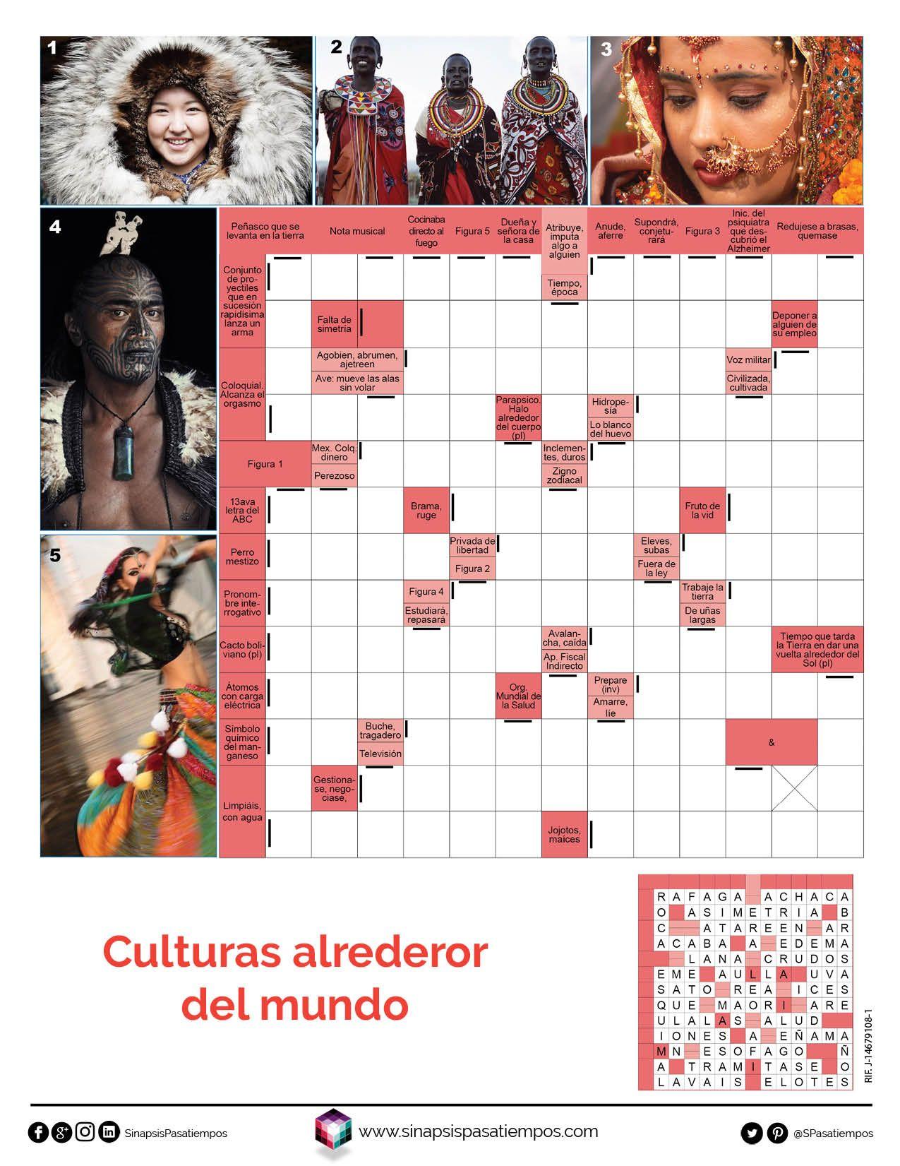 Autodefinidos Culturas En El Mundo Pasatiempos Entretenimiento