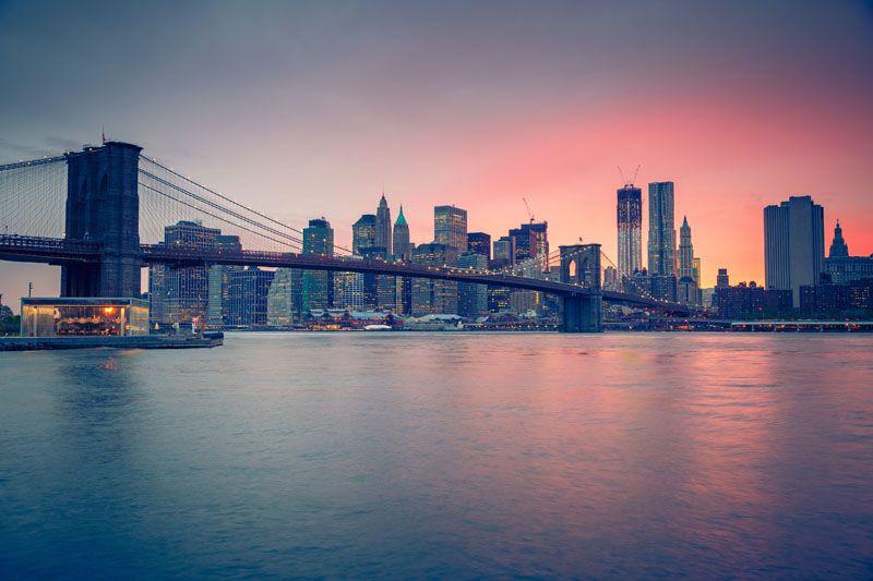 Brooklyn at dusk. Photograph by S.Borisov