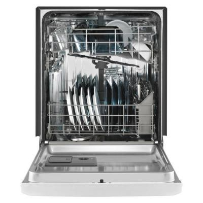Maytag Front Control Dishwasher In Black With Stainless Steel Tub And Steam Cleaning Mdb4949sde The Home D Steel Tub Built In Dishwasher Whirlpool Dishwasher