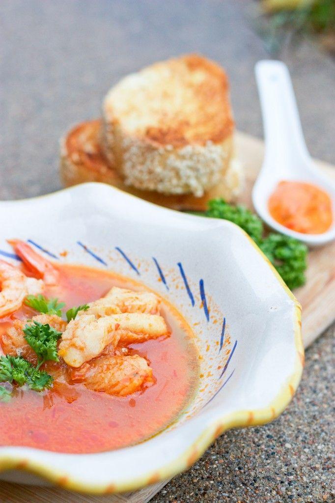 Bouillabaisse Mediterranean Seafood Soup