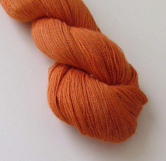 LUSH II Lace yarn Baby alpaca silk Compassion by bugsnugger, $25.00