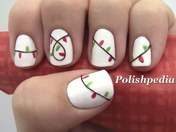 50 amazing and easy christmas nail designs and nail arts christmas celebrations