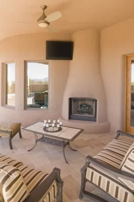 What Is A Kiva Fireplace Ehow Fireplace Building A House Outdoor Rooms