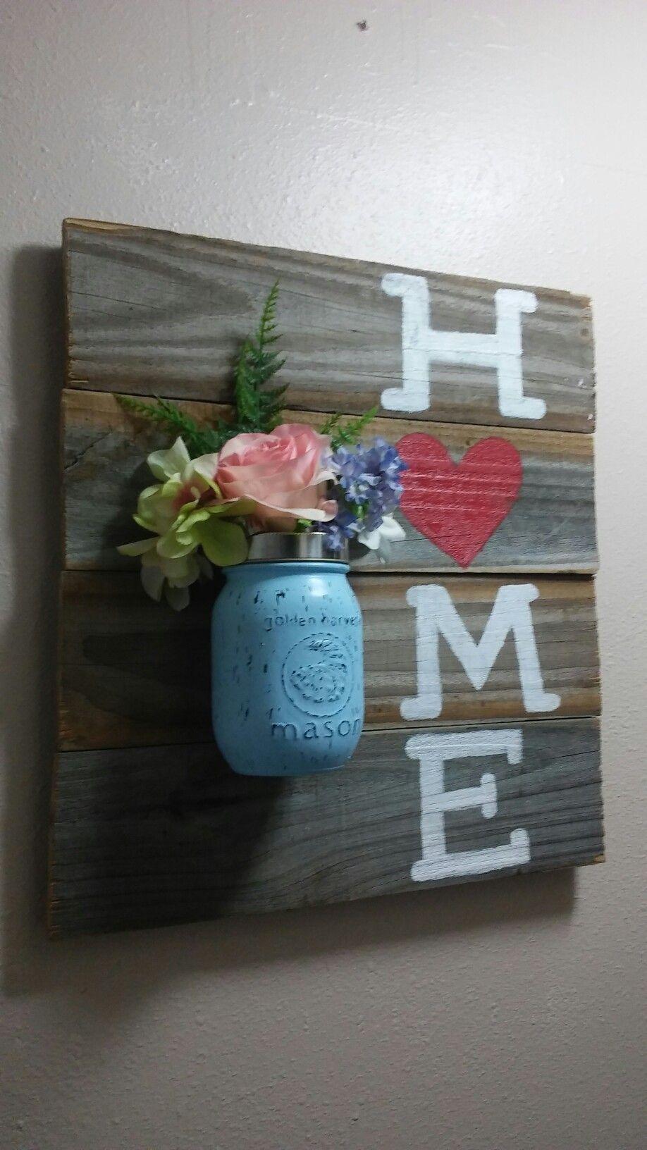 Mason Jar Door Hanger Ideas Shabby Chic