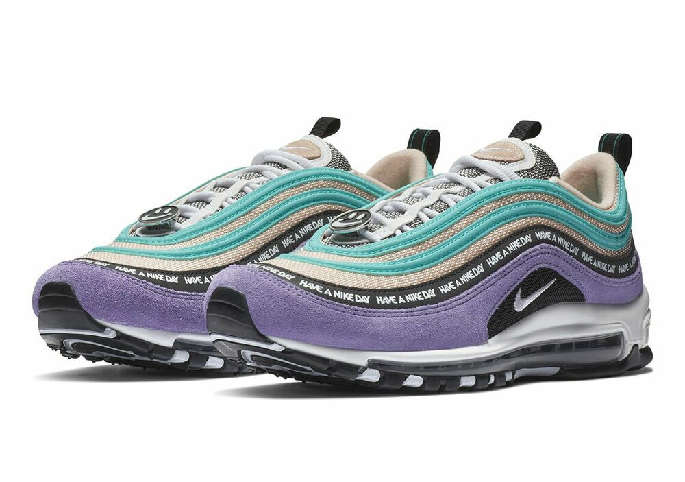 Nike Air Max 97 Have A Nike Day Black Space Purple White Sizes 8-13 BQ9130 500
