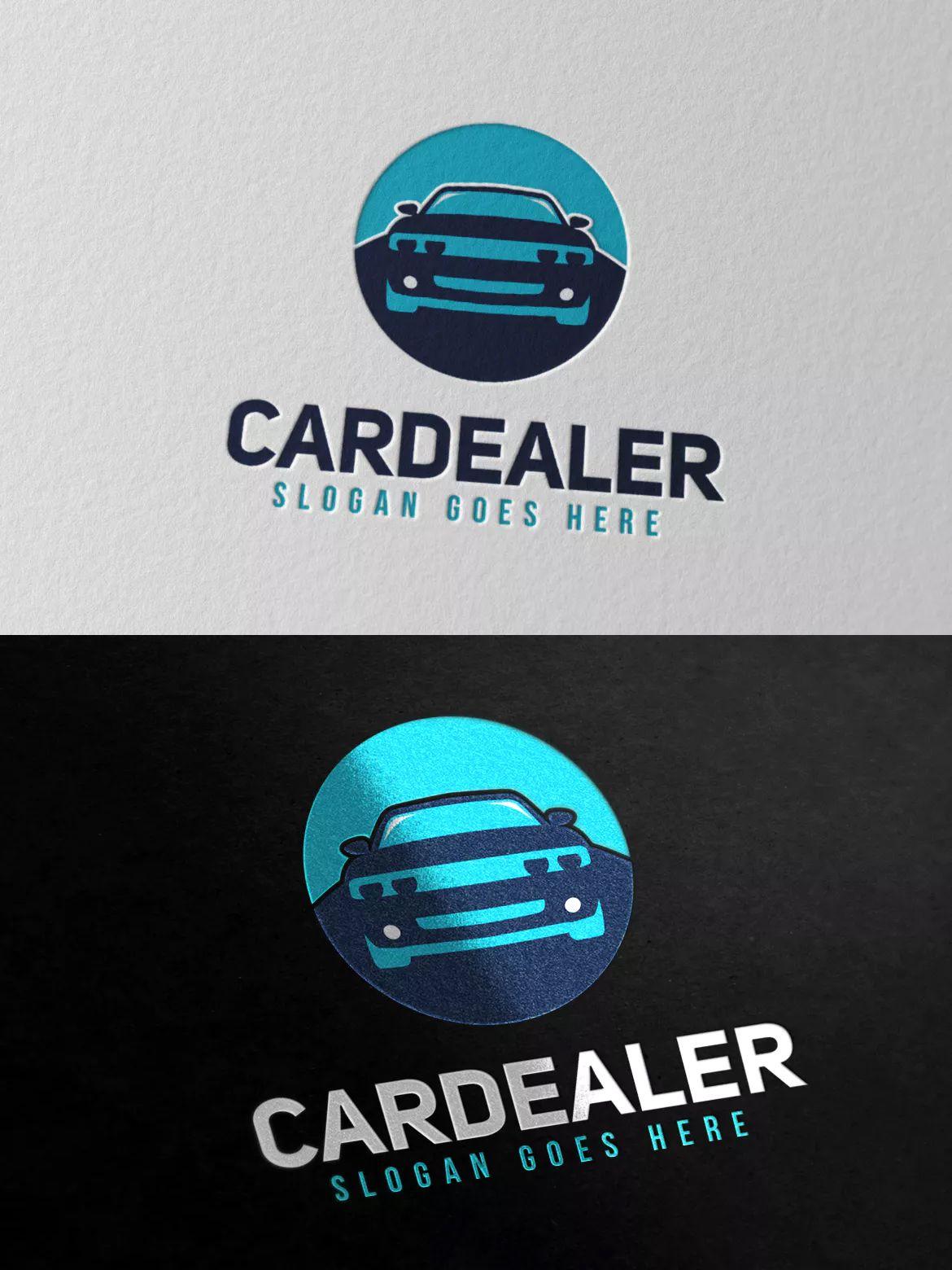 Cardealer Logo Template Ai Eps Psd Unlimiteddownloads Dizajn