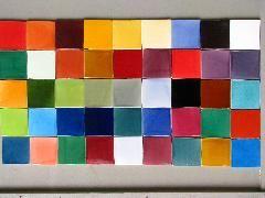 Credence en carrelage 10x10 Patchwork multicolor IMG_6496 | cuisine ...