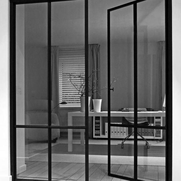 Stalen binnendeuren op maat. Door gijsrobert.com. #oblydesignheroes ...