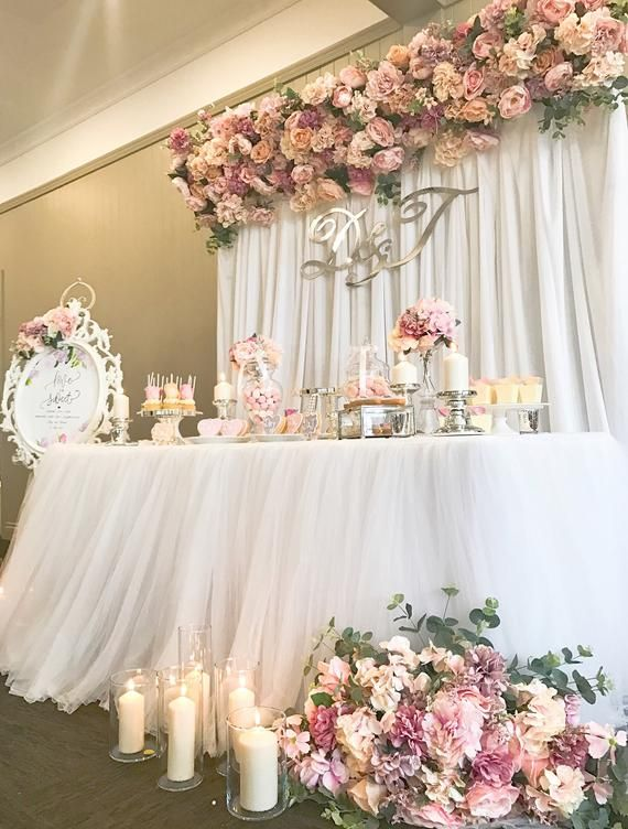 White Tulle Tutu Table Skirt With Top Cloth for 6ft Trestle Table (Full Cloth with Tulle Skirt and Top cloth) #decorationevent