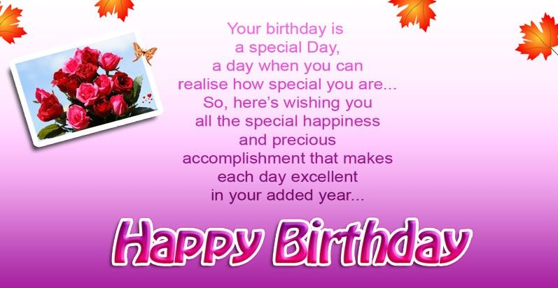 Happy Birthday Cards images with wishes from Nouran toRadhika – Birthday Card Wishes
