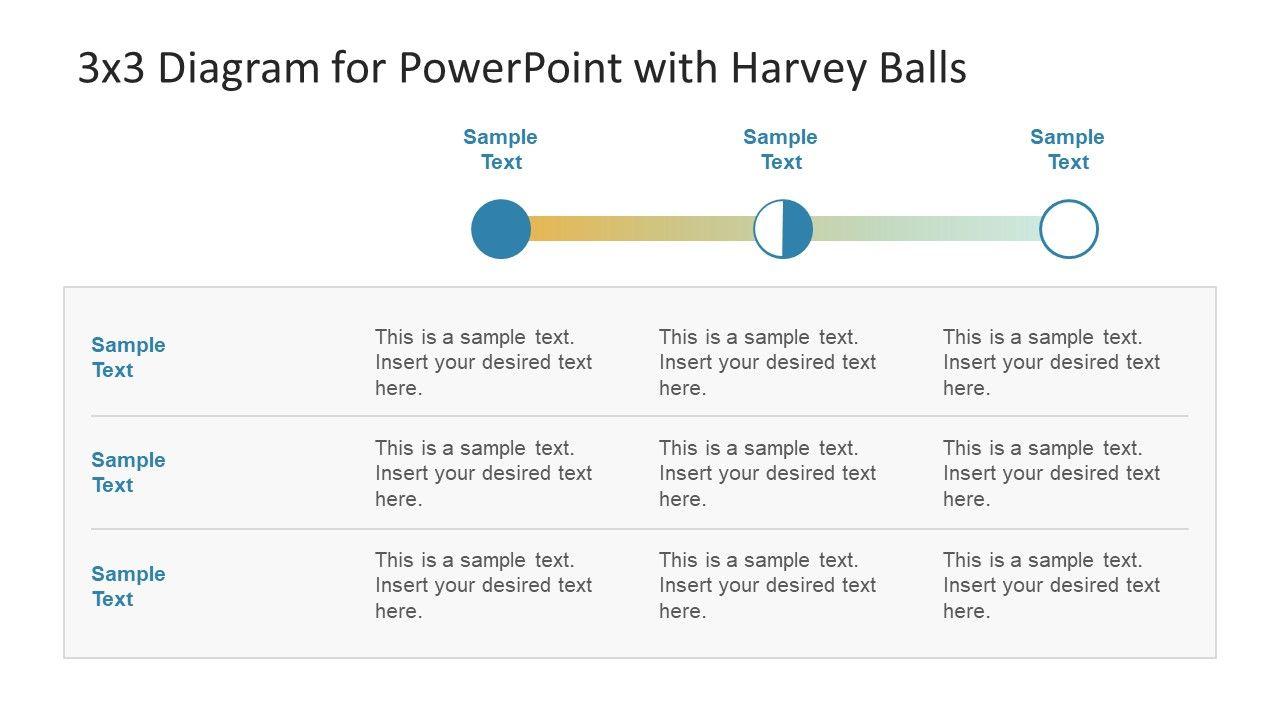 Clockwise Icons for Harvey Balls Presentation ...