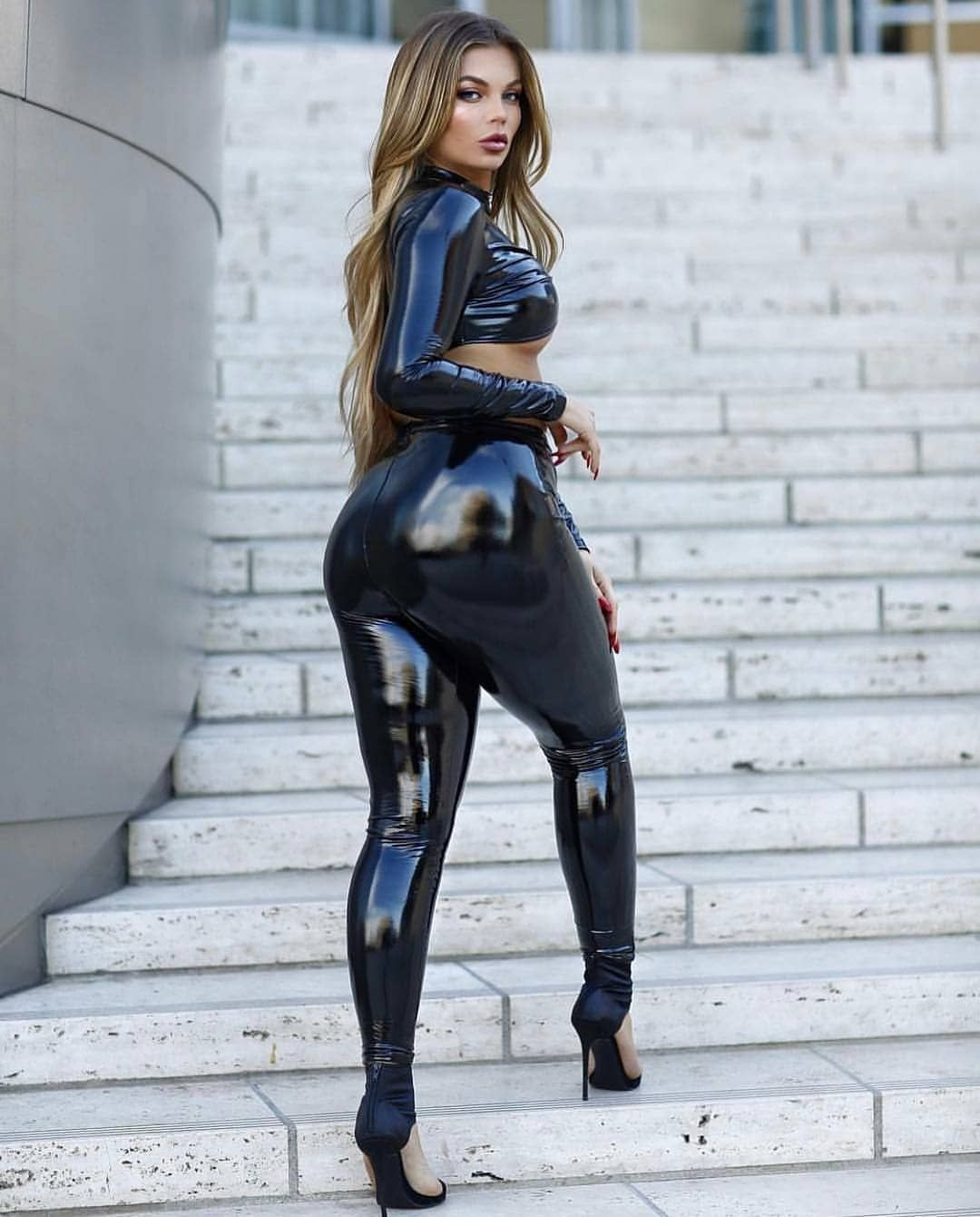 cd9f54bae1c15 Pin by Latex Lab on Misc in 2019 | Leather dresses, Leather Leggings ...