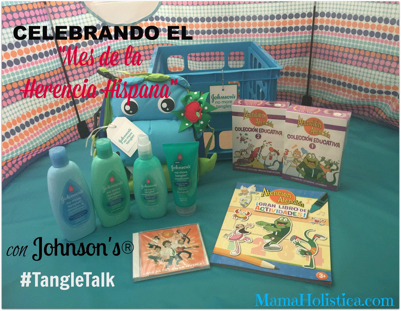 Celebrando el Mes de la Herencia Hispana con Johnson's® Sorteo #TangleTalk