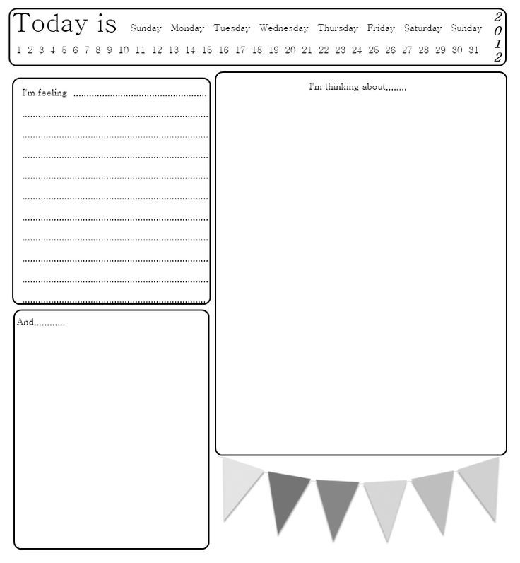 My Diary Template Online Pages Templates \u2013 thistlephoto