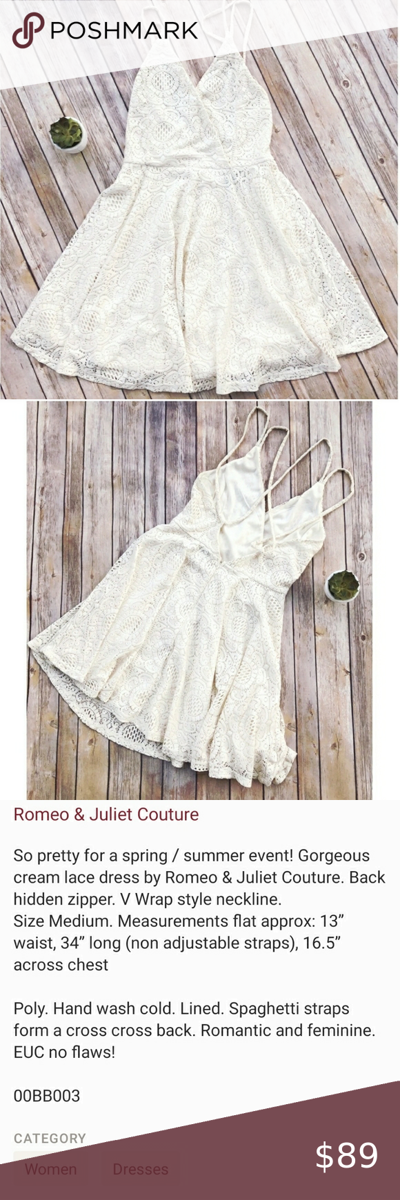 Romeo Juliet Couture White Lace Slip Dress In 2021 Lace Slip Dress White Floral Lace Dress Cocktail Dress Lace [ 1740 x 580 Pixel ]