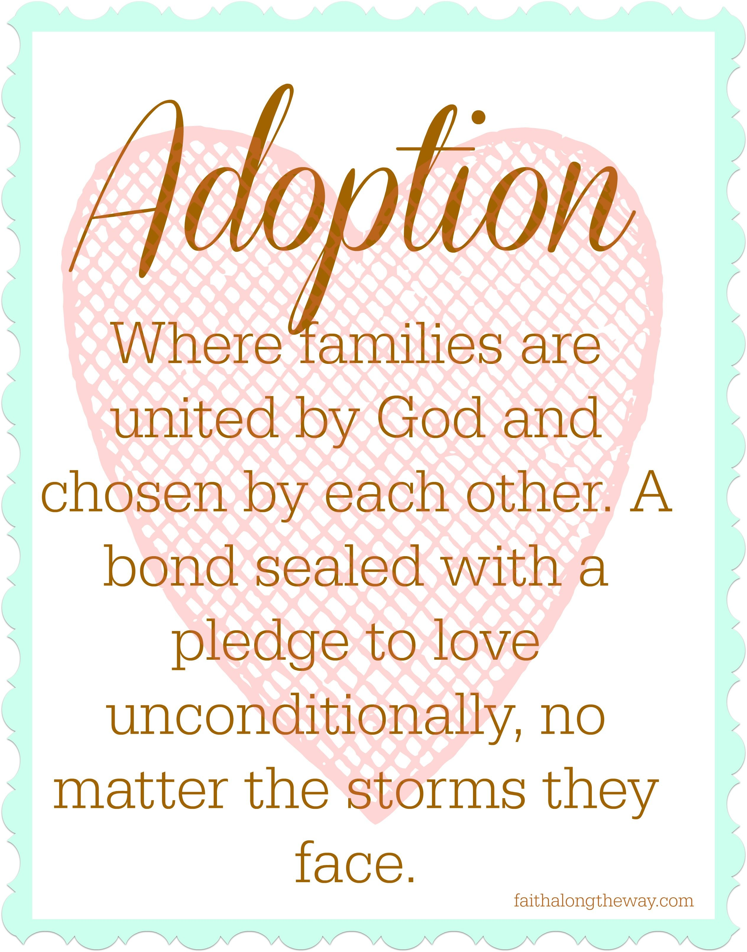 Adoption Quotes Saturday Soiree Blog Party #15  Pinterest  Adoption Quotes