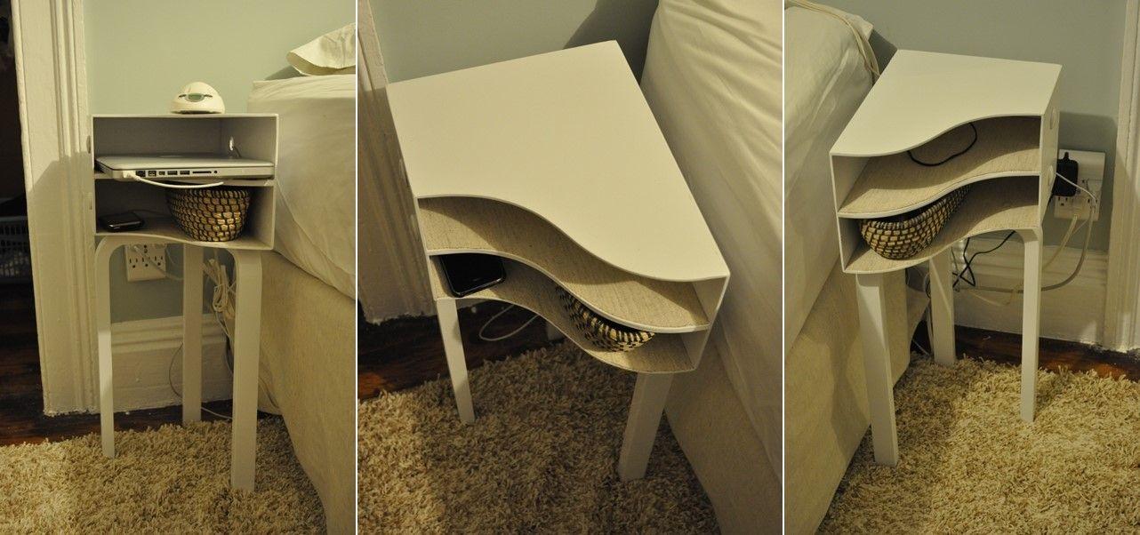 Best Ikea Magazine Racks Turned Into A Bedside Table Small 400 x 300