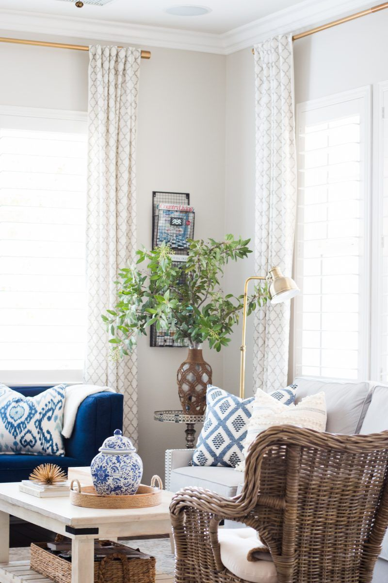 living room in blue%0A Living room ideas    Neutral space      bring in lots of texture and fresh  greens