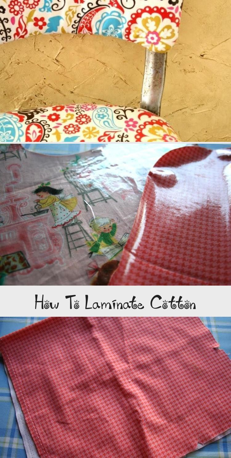How To Make Diy Laminated Cotton Out Of Any Cotton Fabric Sewingprojectsvintage Sewingpro In 2020 Laminated Cotton Fabric Unique Sewing Projects Sewing Projects Free