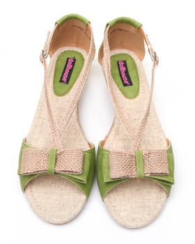 Dollhouse - Tay Low Wedge Espadrille