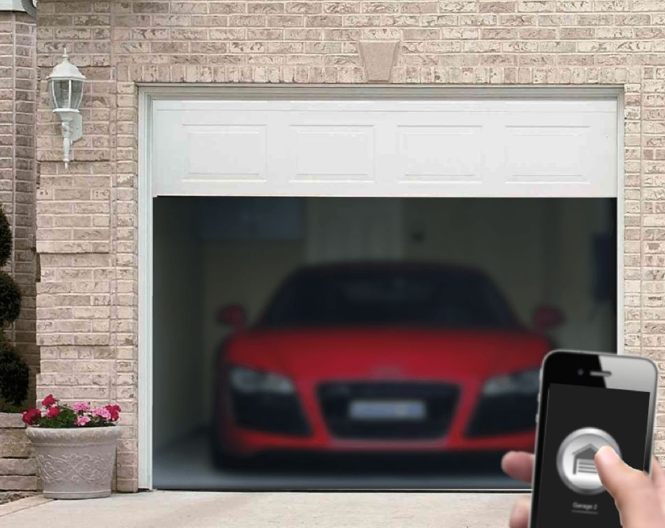 Garagemate Android And Iphone Garage Door Opener Remote App Simple