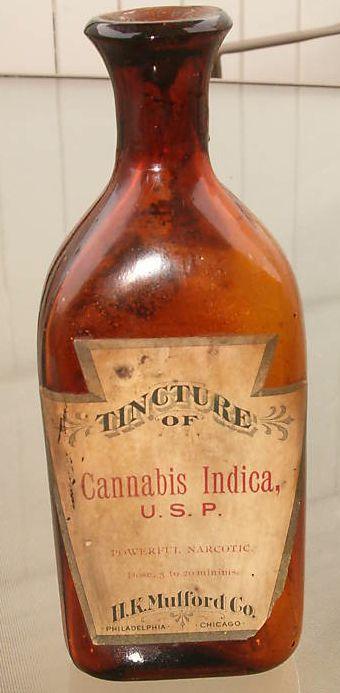 Tintura de cannabis indica