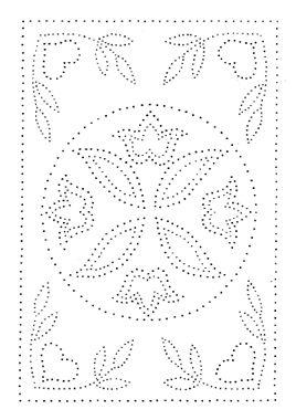 Dutch Plate Punched Tin Pattern Patrones De Bordado Ideas De Bordado Bordados Vintage