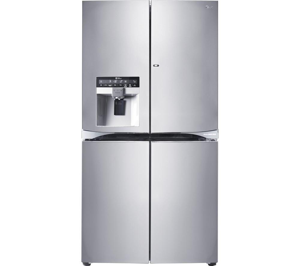 GMJ916NSHV American-Style Fridge Freezer - Stainless Steel | Stahl ...
