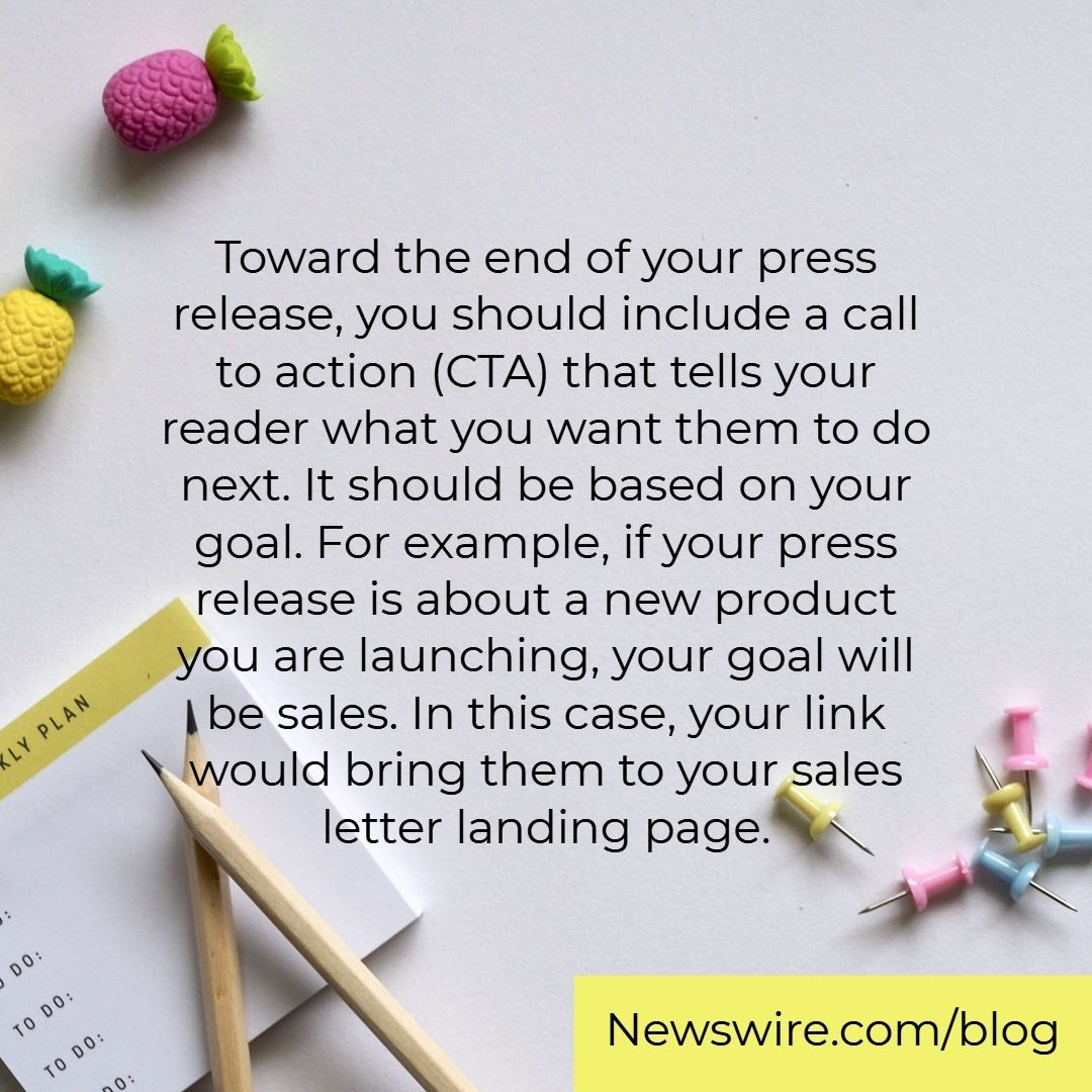 Learn how to end your press releases effectively. Link in the bio ...