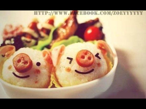 piggy sushi#Pin By:Pinterest++ for iPad#