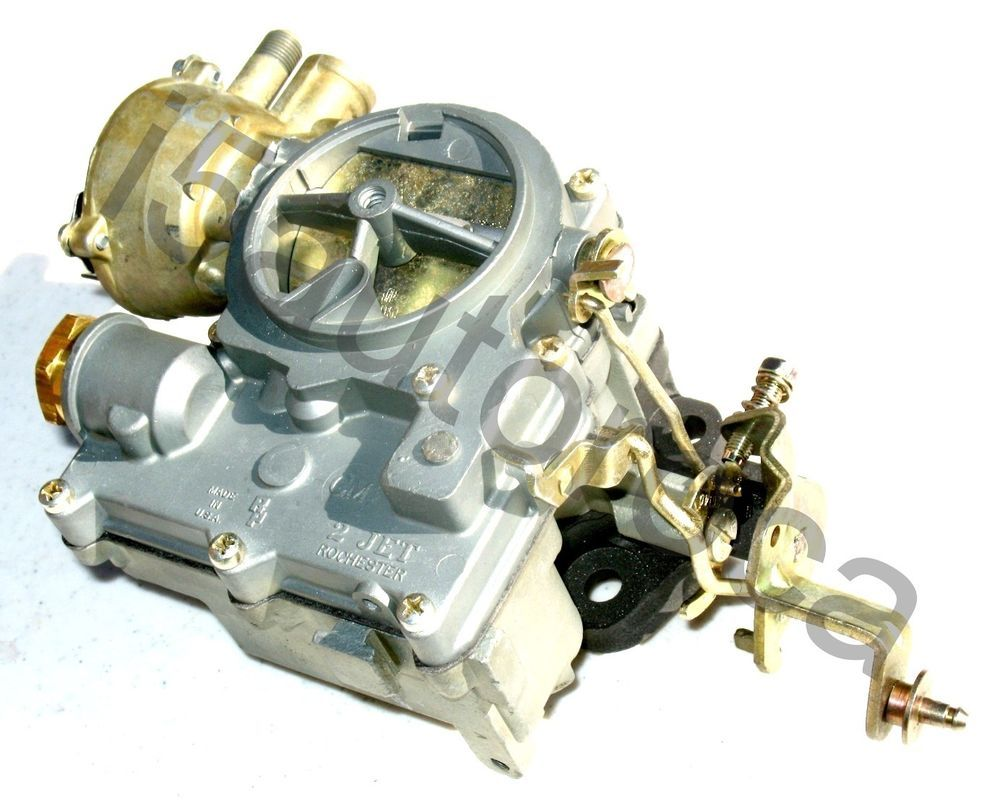 small resolution of jeep carburetor 2 barrel rochester 7024041 2gc 225 engine 1966 71 electric choke jeepster commando