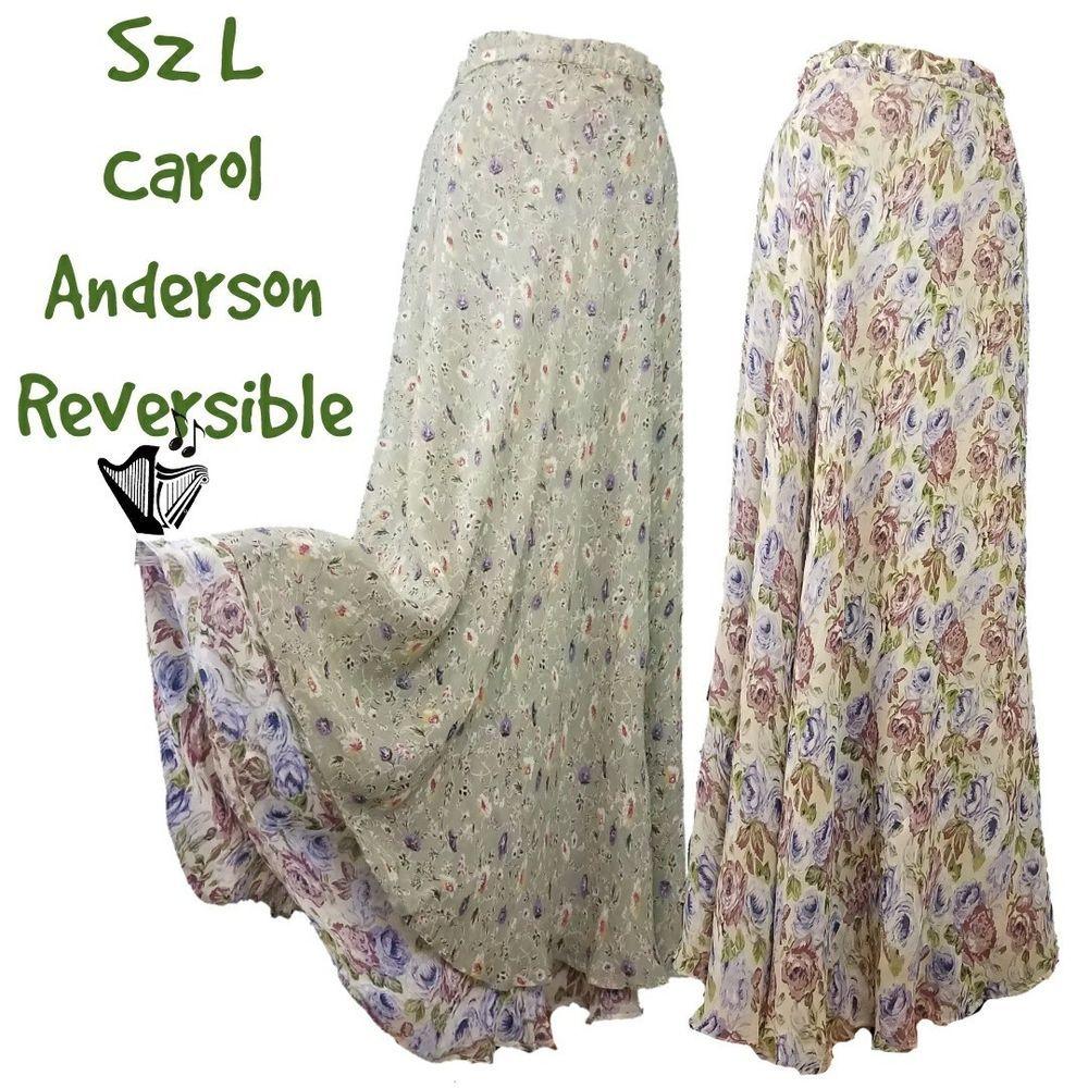 393ba2a52ea Details about Two Harps Plus Size Midi Skirt Sz 1X Gray Silk Paisley A-Line  Elastic Waist in 2019
