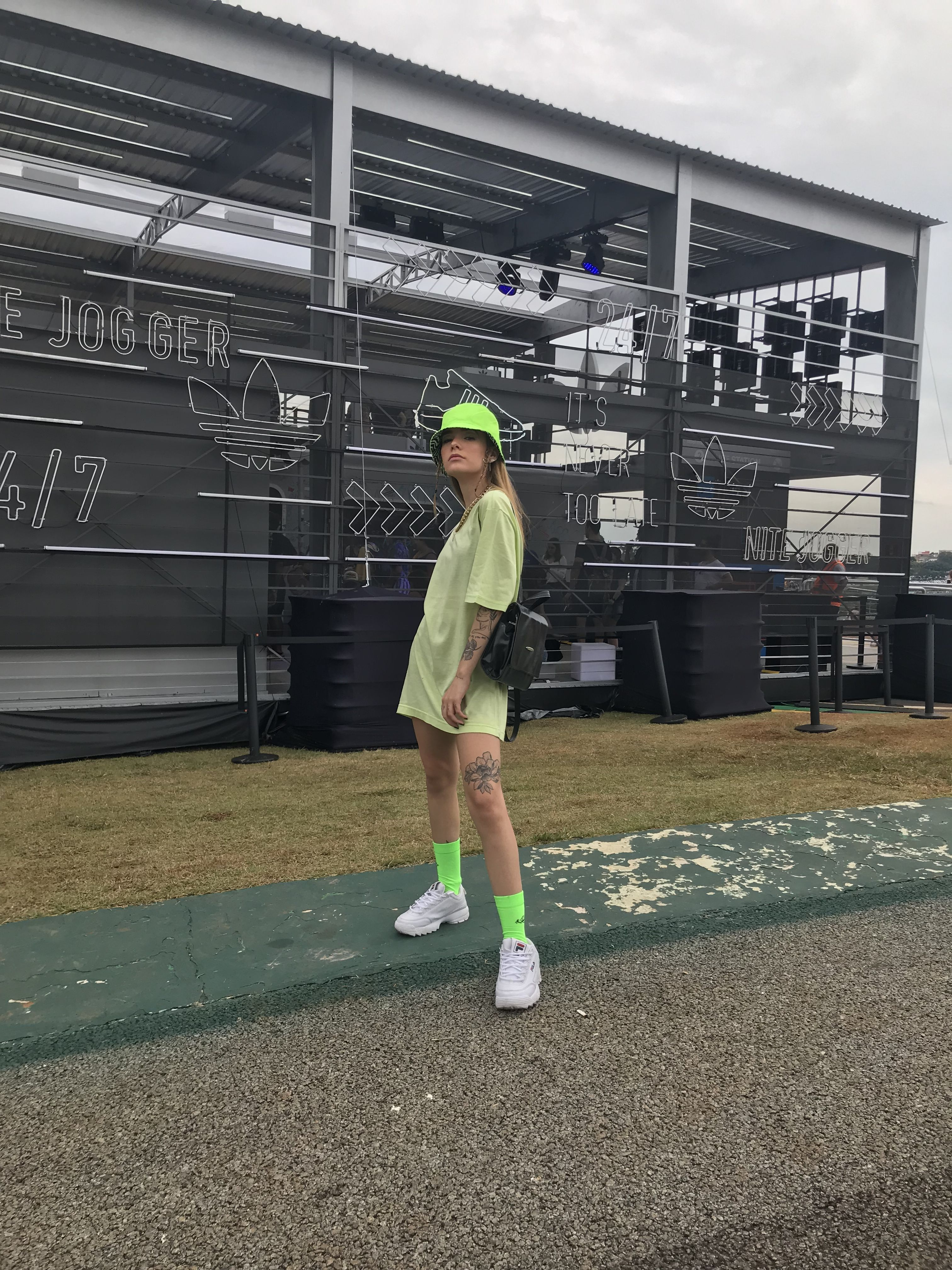 Neon Vibez Neon Green Outfits Neon Outfits Outfits With Hats