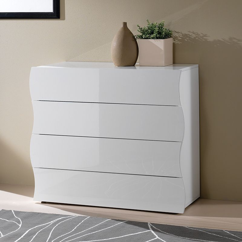 Craquez pour le design unique de cette commode de chambre 4 tiroirs ...