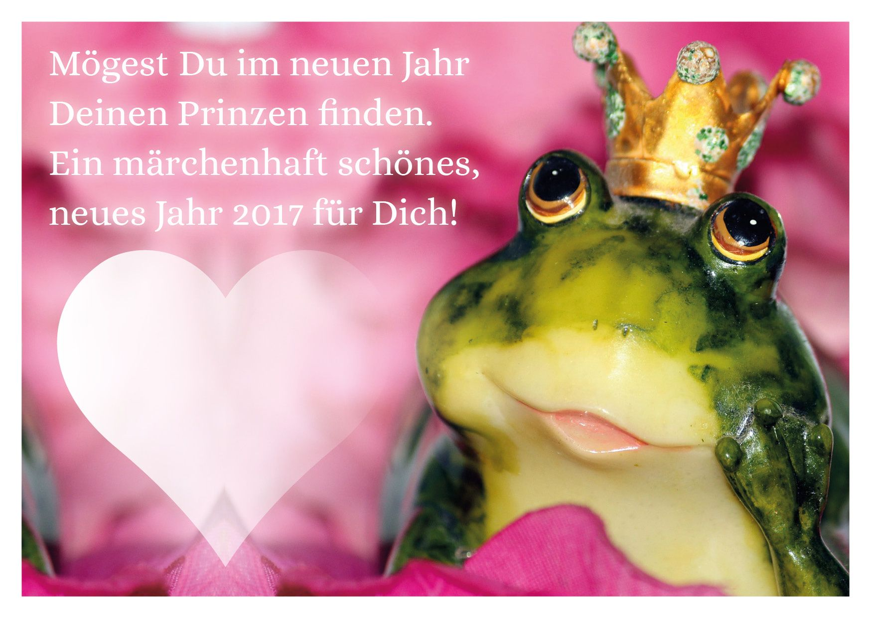 Ein märchenhafter Neujahrswunsch für liebe Menschen, die sich im ...