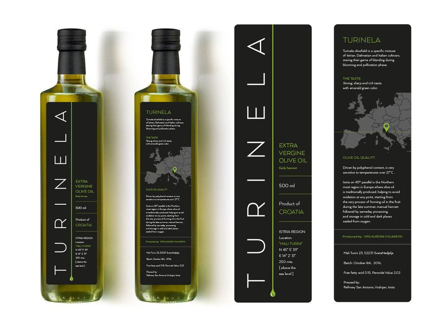 Contest Entry 64 For Design A Label For Premium Olive Oil Bottle Olive Oil Bottles Oil Bottle Olive Oil