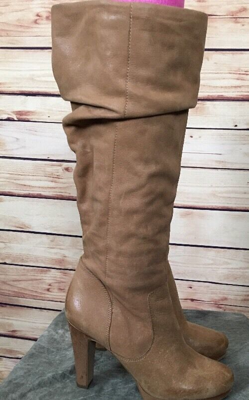 84a15f8a657 Details about JESSICA SIMPSON Womens Black Knee High Boots Heels Sz ...