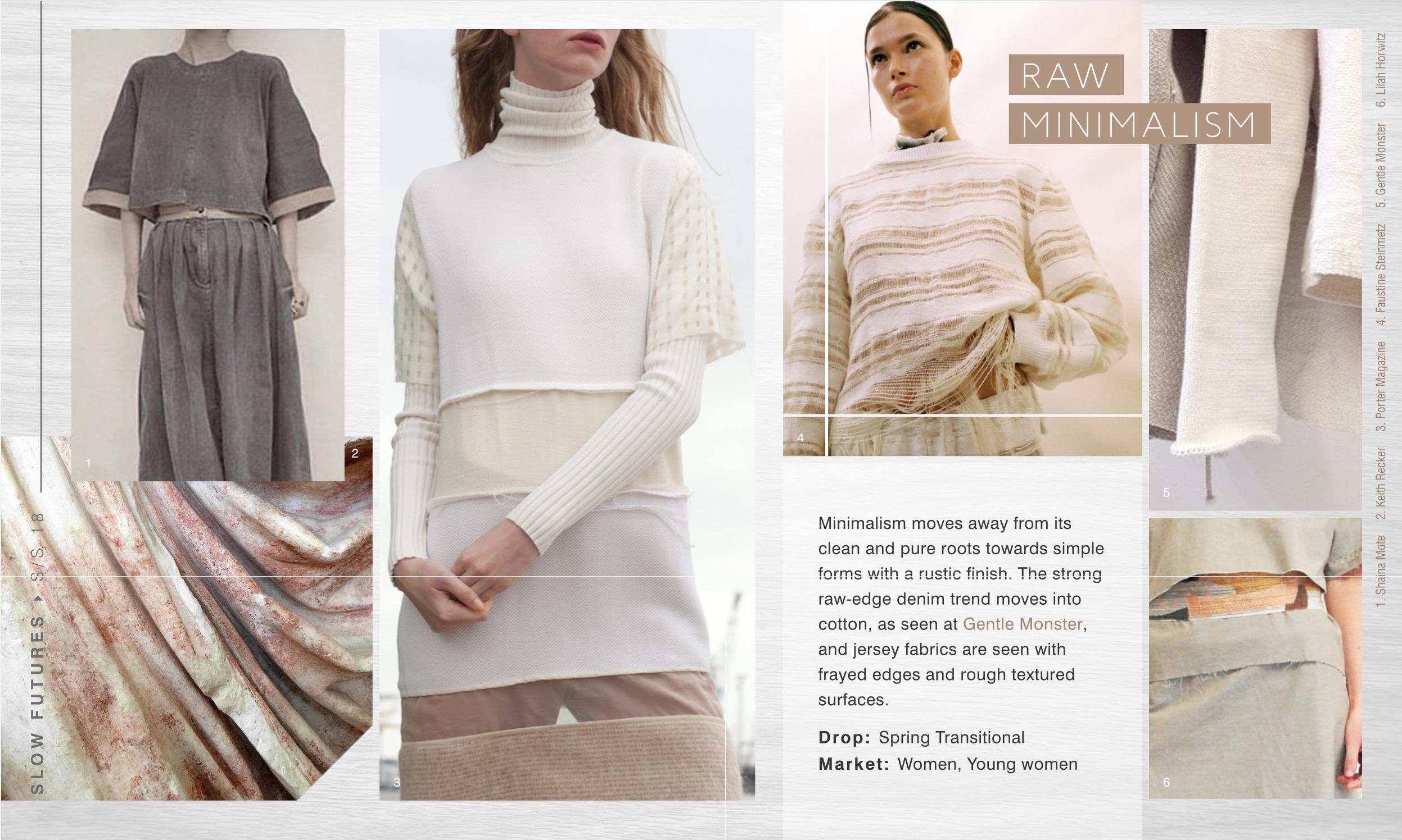 WGSN SS18 I Slow Futue I The Look | Latest WGSN Fashion ...